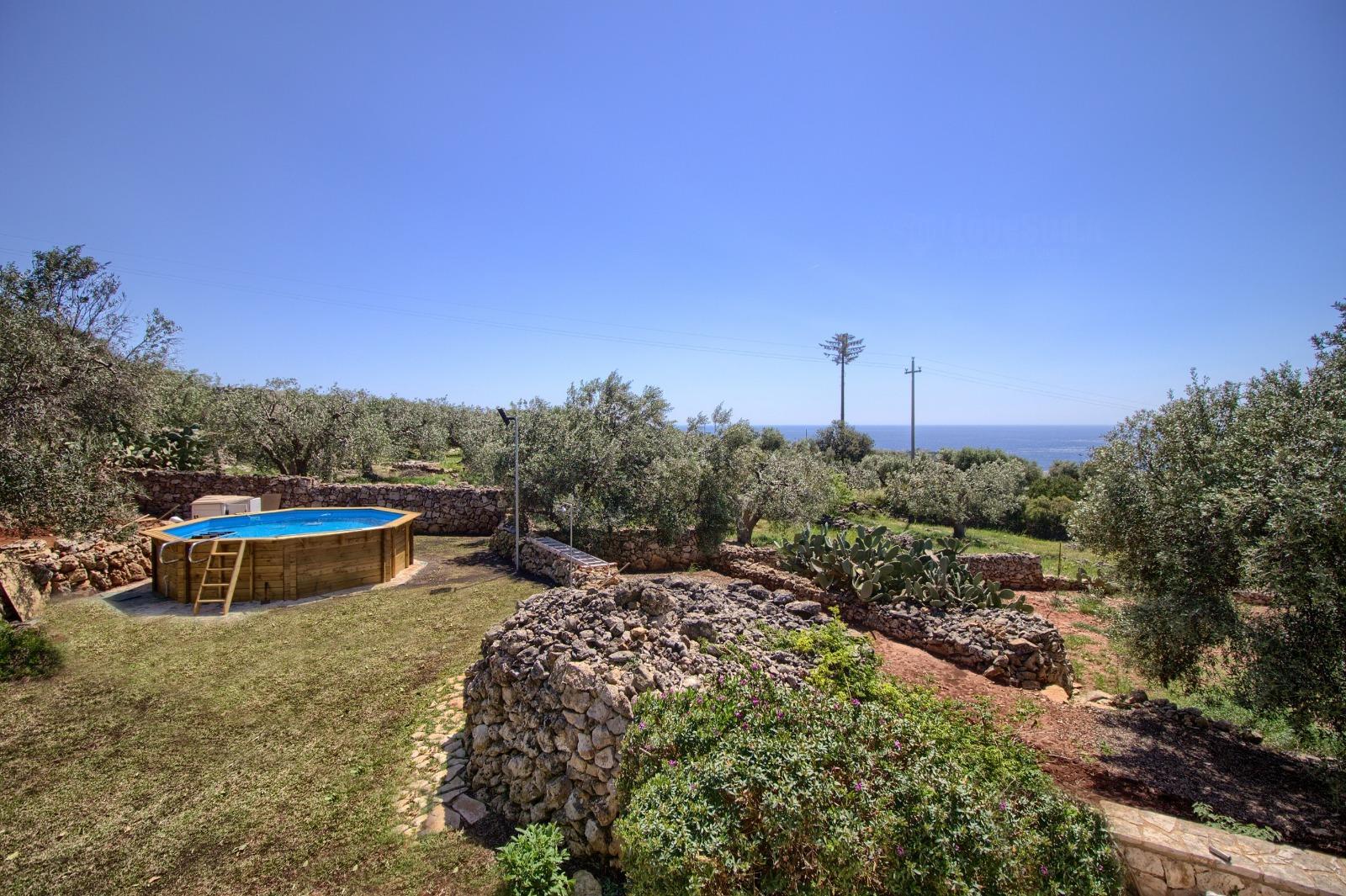 Pizzica luxury villa with pool